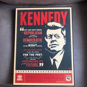 JFK / Kennedy Quote Wall Decor